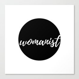 Womanist Canvas Print