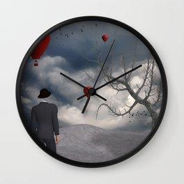 If Dreams Flying Wall Clock