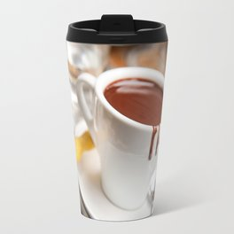 hot milk chocolate and ginger cookie Travel Mug