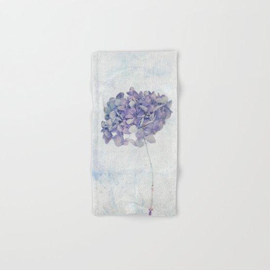 Blue Vintage Hydrangea Hand & Bath Towel