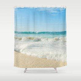 Aloha Kapukaulua Beach Shower Curtain