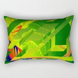 Great Green Frac 1 Rectangular Pillow