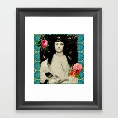 Alice Collage Framed Art Print