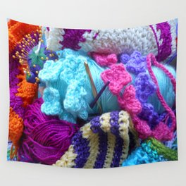 For the love of crafting Wall Tapestry