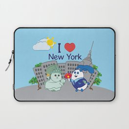 Ernest and Coraline   I love New York Laptop Sleeve
