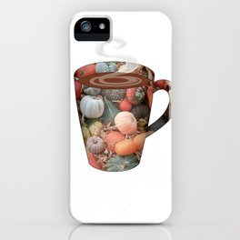 pumpkin spice tall mug - coffee cup series iPhone Case