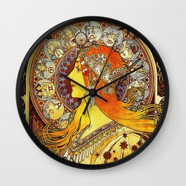The Signs of the Zodiac Wall Clock