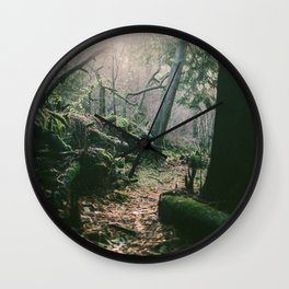 ORCAS ISLAND FOREST Wall Clock