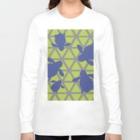 magic the gathering Long Sleeve T-shirts featuring Gathering by Claire C