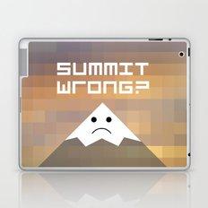 summit wrong? Laptop & iPad Skin