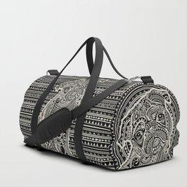 Polynesian Pug Duffle Bag