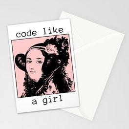 Programmer - Ada Lovelace Stationery Cards
