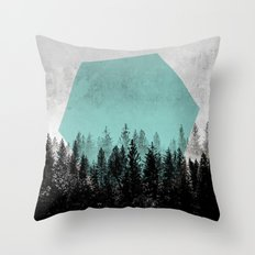 Woods 3 Throw Pillow