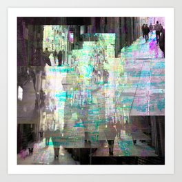 mayhap nourish occurrences permit questioning rows Art Print