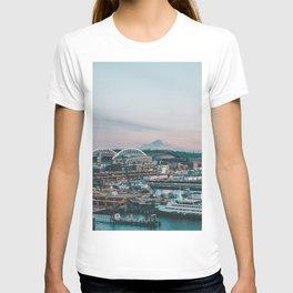 Seattle & Mount Rainier T-shirt