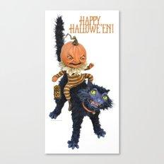 Rucus Studio Halloween Mischief Canvas Print