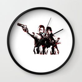 Walking Dead Zombie Cleanup Crew Wall Clock