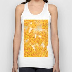 Golden Pebbles Unisex Tank Top