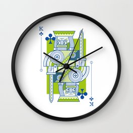 Delirium King of Clubs Wall Clock