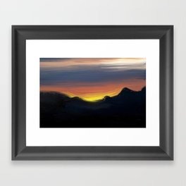 Paint the Sky Framed Art Print