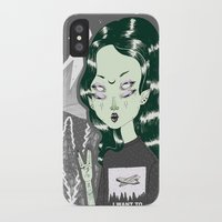 loll3 iPhone & iPod Cases featuring ☽ ZELINA ☾ by lOll3