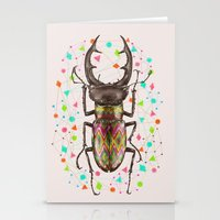 insect Stationery Cards featuring INSECT IV by dogooder