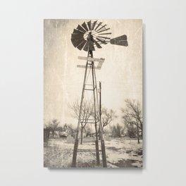 Fair Bury Windmill Metal Print