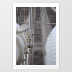 The  (Brooklyn) Bridge Art Print
