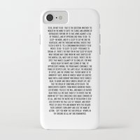 hamlet iPhone & iPod Cases featuring Hamlet by ChandlerLasch