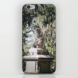 Bonaventure Cemetery - Statue of Eliza Wilhelmina Theus III iPhone Skin