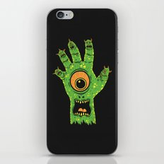 Finger Monsters iPhone & iPod Skin