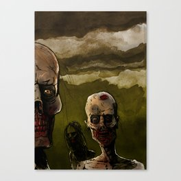 The resurrected Canvas Print