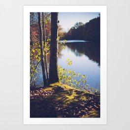 Solitude Lake Art Print