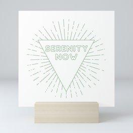 Serenity Now Mini Art Print