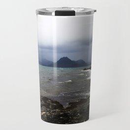 Elgol Scotland - Stormy Seas Travel Mug