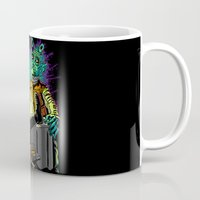 han solo Mugs featuring Han Solo and greedo by trevacristina