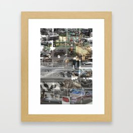 CAR SYNECTICS2 #14 Framed Art Print