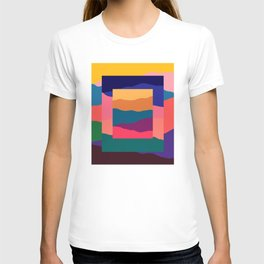 Terran - Abstract Landscape Collage: 03 T-shirt