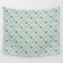 Echeveria pattern Wall Tapestry