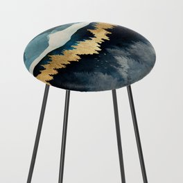 Indigo Night Counter Stool