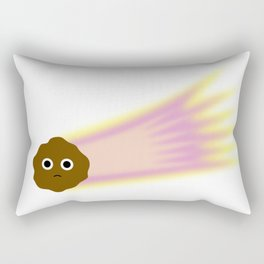 Sad Comet Rectangular Pillow