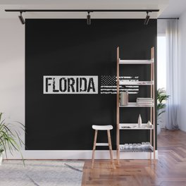 Florida: Distressed Flag Wall Mural