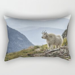 The Ups and Downs of Being A Mountain Goat No. 2a Rectangular Pillow