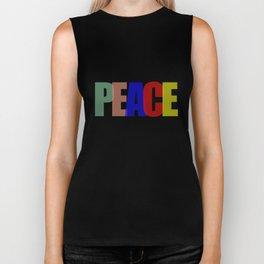 Peace (Color) Biker Tank