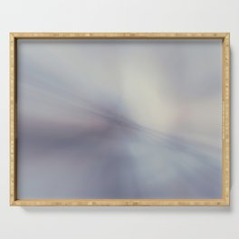 Blurred glass Serving Tray