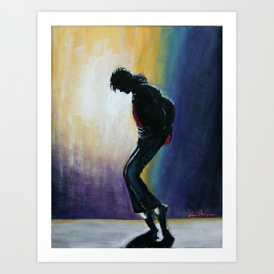 MJ move   Art Print