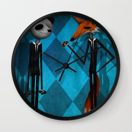The Sophisticates Wall Clock