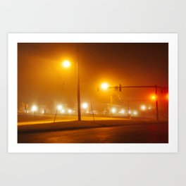 Midnight Walk Art Print