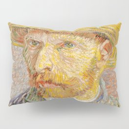 Vincent van Gogh - Self-Portrait with a Straw Hat - The Potato Peeler Pillow Sham