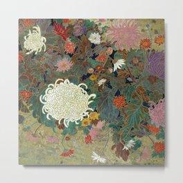flower【Japanese painting】 Metal Print